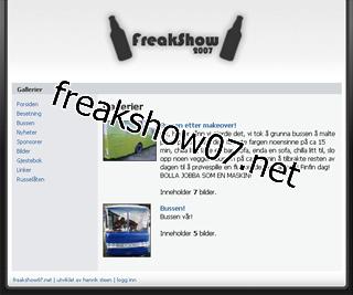 freakshow07.net